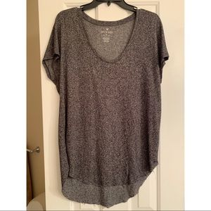 American Eagle soft and sexy heather grey tee